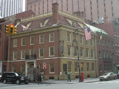 Fraunces Tavern image. Click for full size.