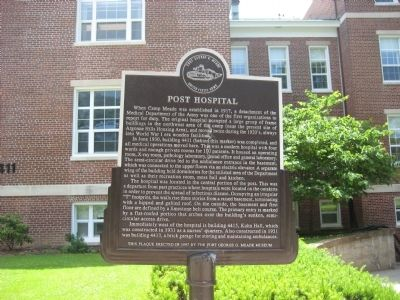 Post Hospital Marker image. Click for full size.