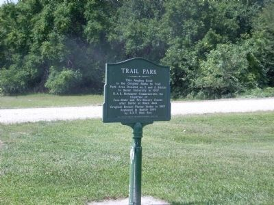 Trail Park Marker image. Click for full size.