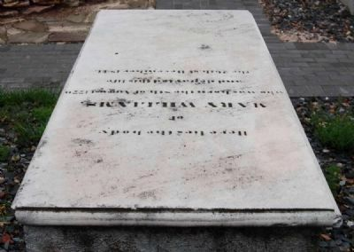 Mary Williams Tombstone image. Click for full size.