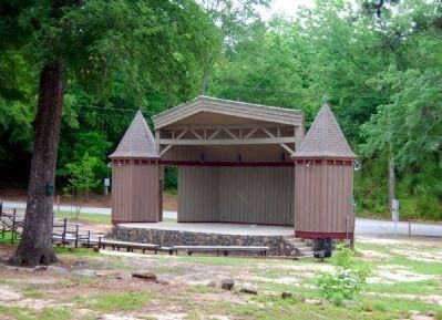 Mineral Spring Park Stage image. Click for full size.