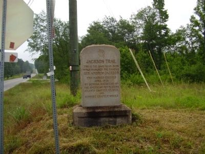 Jackson Trail Marker image. Click for full size.
