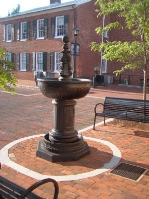Watering Fountain and Marker image. Click for full size.