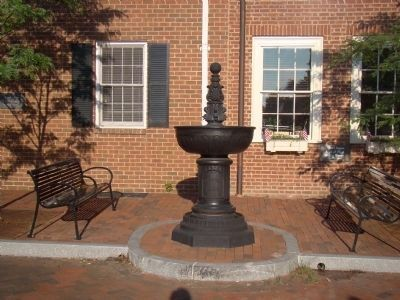 Charlottesville's Watering Fountain image. Click for full size.