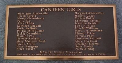 Canteen Girls Marker image. Click for full size.