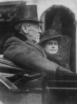 Woodrow and Edith Bolling Galt Wilson image. Click for full size.