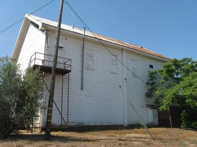 Milton Masonic Hall - Rear of Building image. Click for full size.