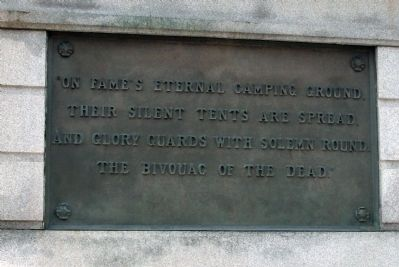 Right (North) Plaque - - Civil War Memorial - Vigo County Marker image. Click for full size.