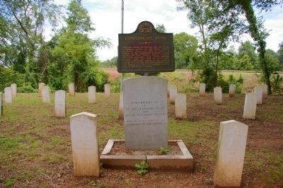 Confederate Dead Marker image. Click for full size.