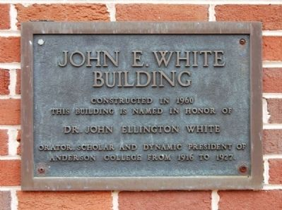 White Building Marker image. Click for full size.