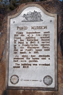 Pond Mission Marker image. Click for full size.