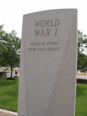 World War I War Memorial Marker image. Click for full size.