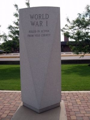 Long View - - World War I War Memorial Marker image. Click for full size.