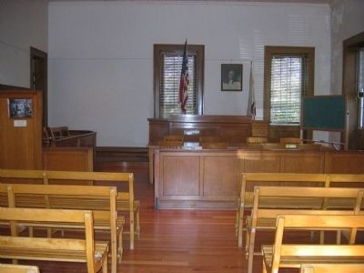 Calaveras County Court Room image. Click for full size.