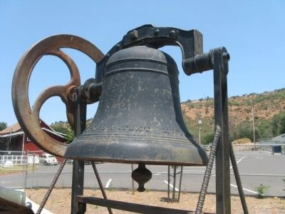 The Copperopolis School Bell image. Click for full size.