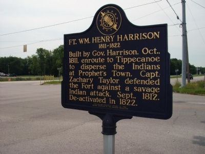 South View - - Fort William Henry Harrison Marker image. Click for full size.