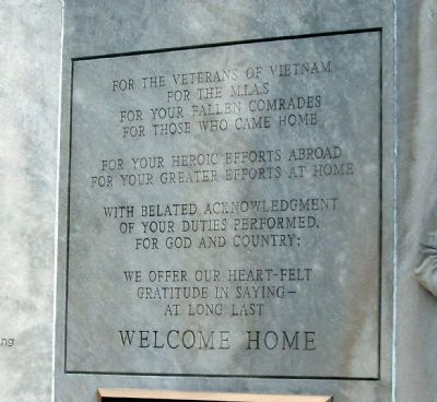 Vietnam War Memorial - - Vigo County Indiana Marker image. Click for full size.
