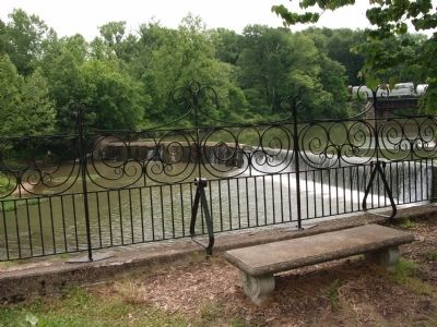 Bench View - - Markle Mill Site image. Click for full size.
