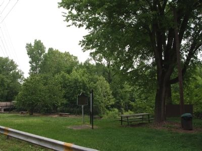 North/East View - - Markle Mill Site Marker image. Click for full size.