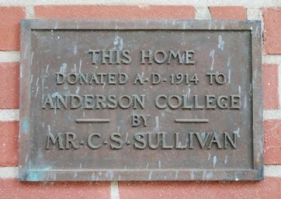 Sullivan Music Building Marker image. Click for full size.