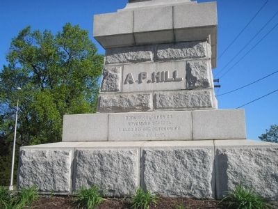 A. P. Hill Marker (Front) image. Click for full size.