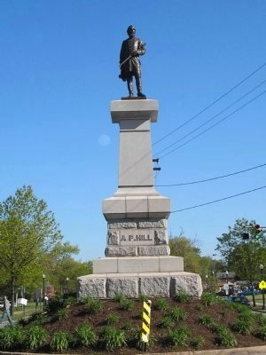 A. P. Hill Monument in Richmond image. Click for full size.