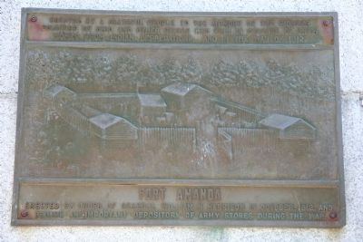 Fort Amanda Marker image. Click for full size.