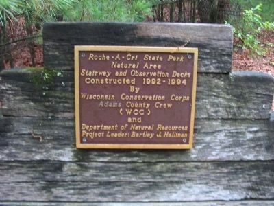 Plaque by Mound Stairway image. Click for full size.