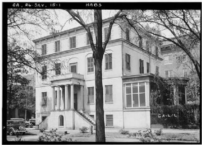 Birthplace of Juliette Gordon Low , Wayne- Gordon House image. Click for more information.
