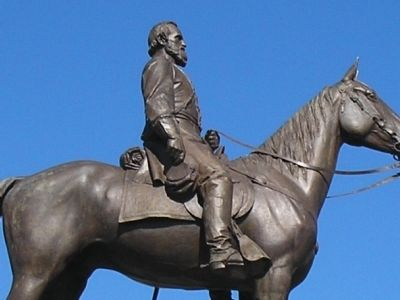 Closeup of Stonewall Jackson image. Click for full size.