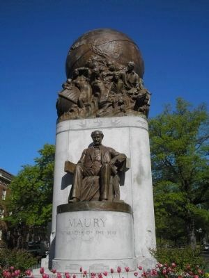 Matthew Fontaine Maury Monument image. Click for full size.