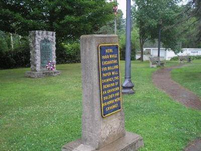 Marker in Schuylerville image. Click for full size.