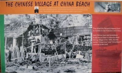 China Beach Interpretive Sign image. Click for full size.
