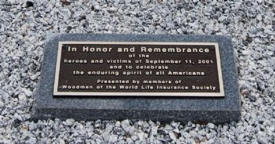 In Honor and Remembrance Marker image. Click for full size.