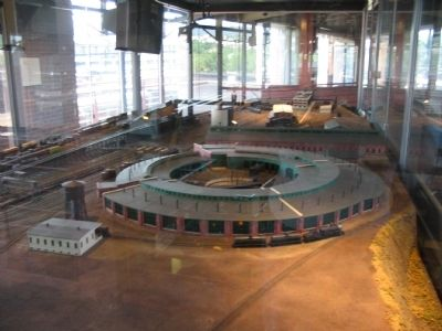 Roundhouse in the Museum Diorama image. Click for full size.