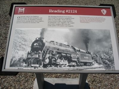 Reading #2124 Marker image. Click for full size.