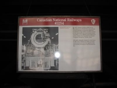 Canadian National Railways #3254 image. Click for full size.