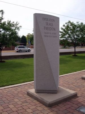 Other View - - Operation Iraqi Freedom - War Memorial image. Click for full size.