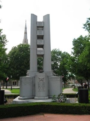 Waterbury Veteran's Monument image. Click for full size.