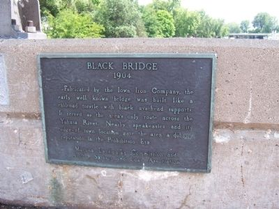 Black Bridge 1904 Marker image. Click for full size.