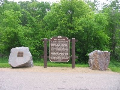 Van Hise Rock Marker image. Click for full size.