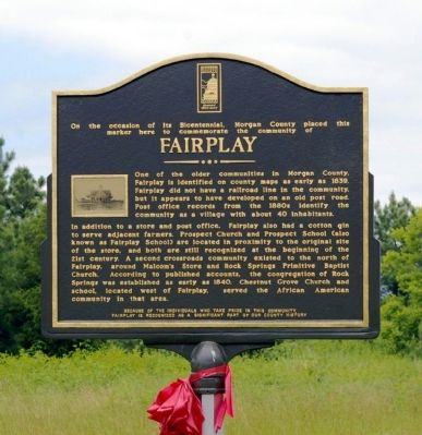 Fairplay Marker image. Click for full size.
