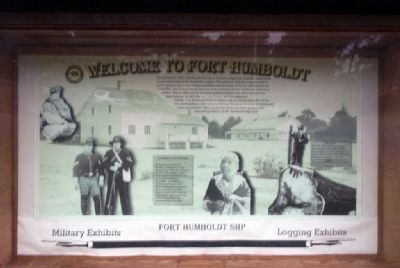 Welcome to Fort Humboldt image. Click for full size.