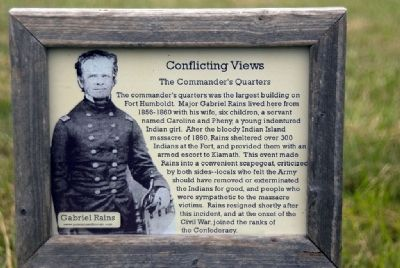 Conflicting Views - The Commander's Quarters image. Click for full size.