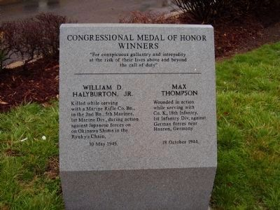 Congressional Medal of Honor Winners image. Click for full size.