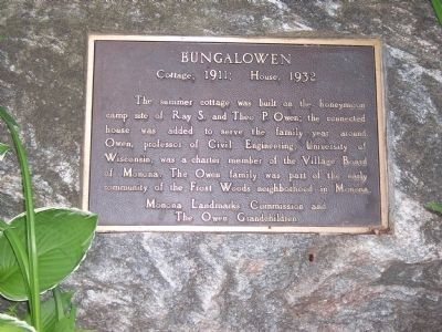 Bungalowen Marker image. Click for full size.