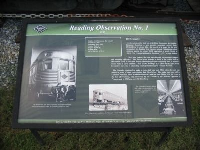 Reading Observation No. 1 Marker image. Click for full size.