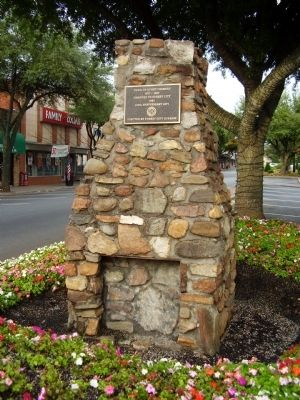 Town of Burnt Chimney Marker image. Click for full size.