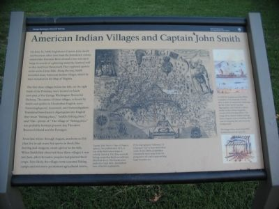 American Indian Villages and Captain John Smith Marker image. Click for full size.
