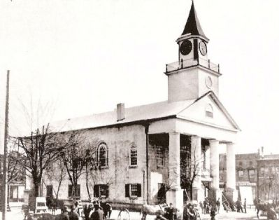 First Anderson County Court House image. Click for full size.